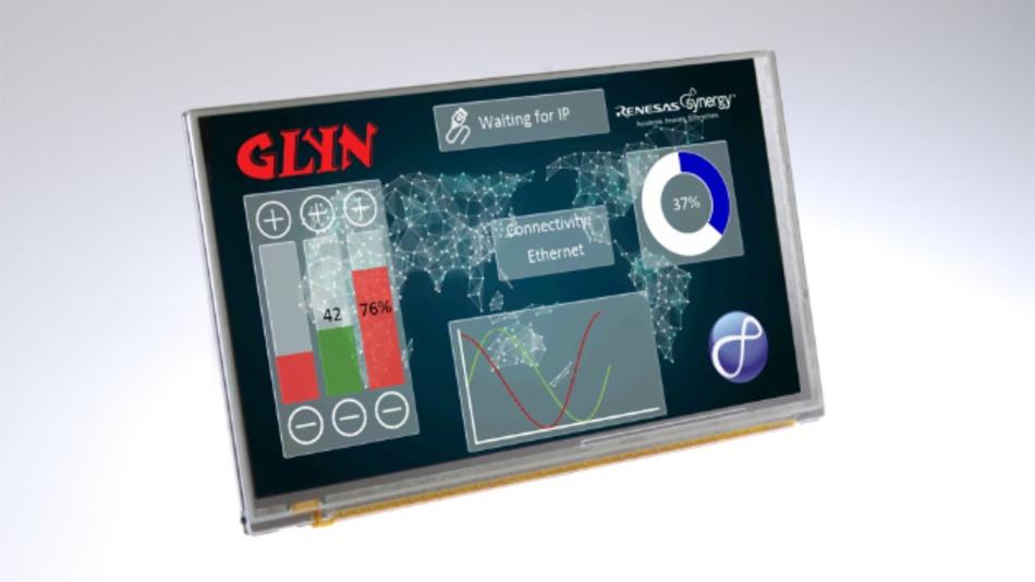Das Smart-Embedded-Display kann auch als Starterkit für Mikrocontroller, DC/DC Schaltregler und industriellen Speicher verwendet werden.