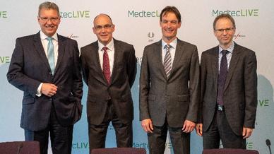 Vom 21. bis 23. Mai 2019 geht erstmalig die Fachmesse MedtecLive in Nürnberg an den Start.