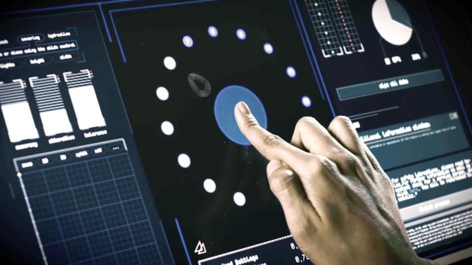 Rafi zeigt auf der electronica den kapazitiven Touchscreen »TwinTouch« mit Krafterkennung.