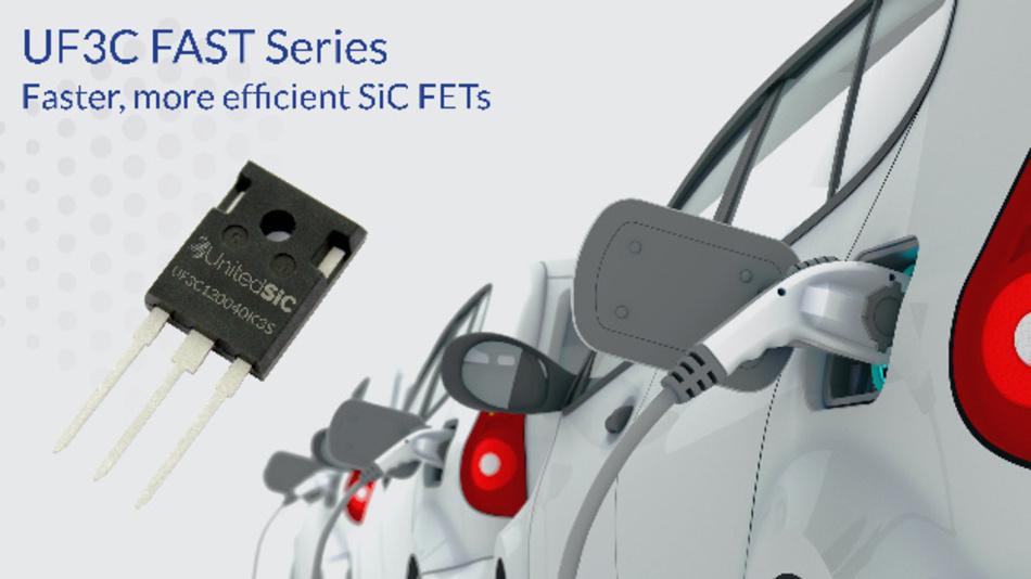 Deutlich schnellere Schaltgeschwindigkeiten und höhere Wirkungsgrade als die bestehende Serie UJC3 bietet die Serie UF3C-FAST von UnitedSiC.