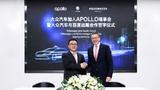 Dr. Ya-Qin Zhang, President von Baidu und Sven Patuschka, Vorstand Technische Entwicklung Volkswagen (China) Investment.