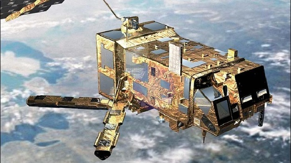 Metop-A, der erste von drei gleichartigen Wettersatelliten, umkreist die Erde seit 2006.