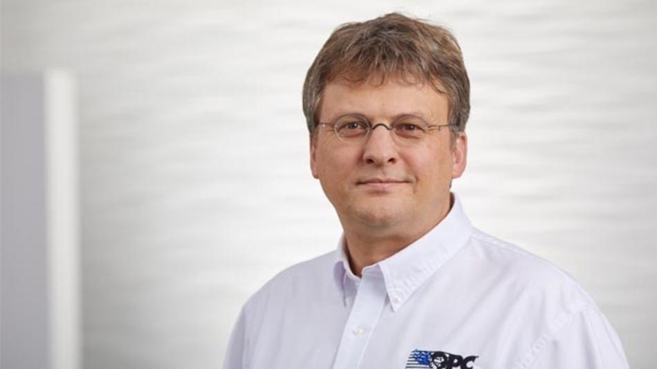 Stefan Hoppe ist seit Oktober 2017 Präsident der OPC Foundation.