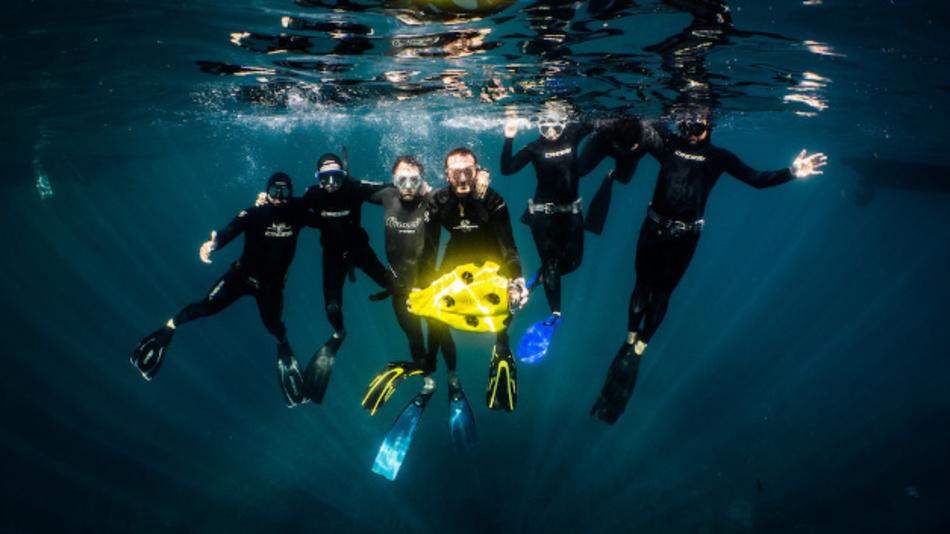 Das Start-up Notilo Plus hat sich auf Produkte für die Unterwasser-Erkundung spezialisiert.