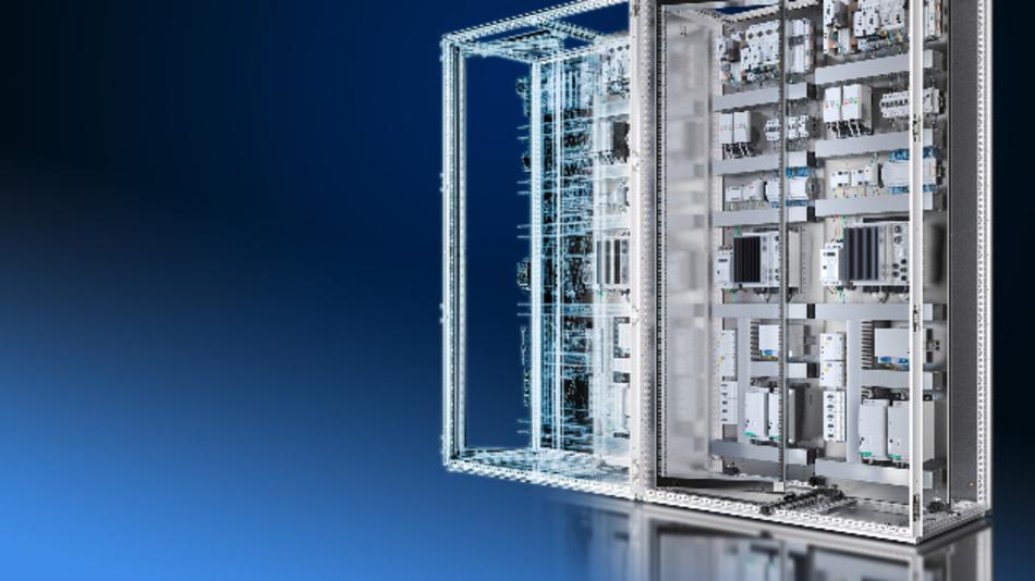 Durch hohe Datenqualität und Durchgängigkeit im Engineering schafft Rittal die Voraussetzungen für die Verschmelzung realer und virtueller Workflows – mit deutlichem Effizienzgewinn für Steuerungs- und Schaltanlagenbauer.