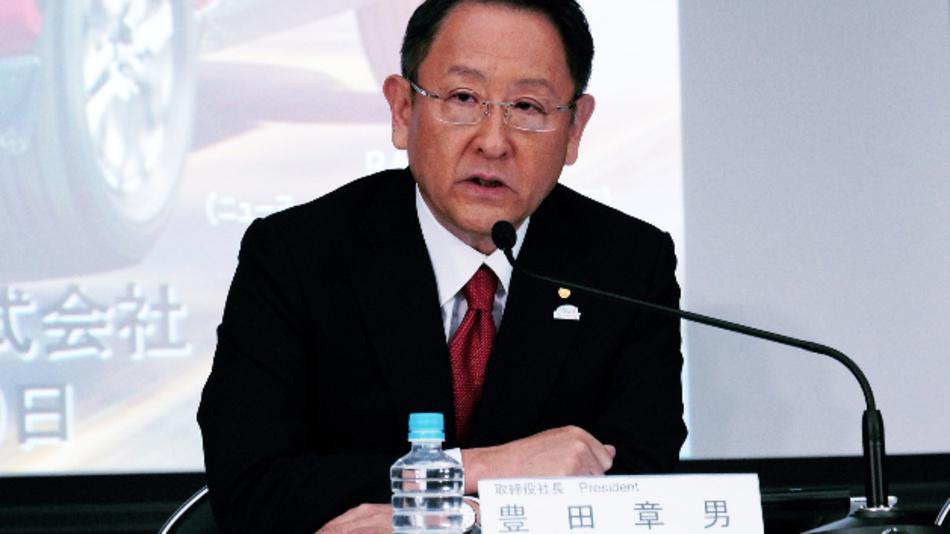 Akio Toyoda, President von Toyota: »Die Autos von morgen werden Teil unserer Gesellschaft, sie tauschen Informationen aus und verbinden sich mit den Menschen, so dass sie genau den Mobilitätsservice und das Auto nutzen können, das sie gerade brauchen.«
