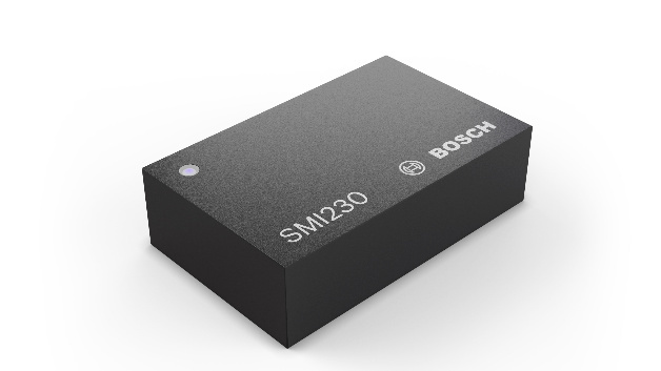 Der Inertialsensor SMI230 von Bosch.