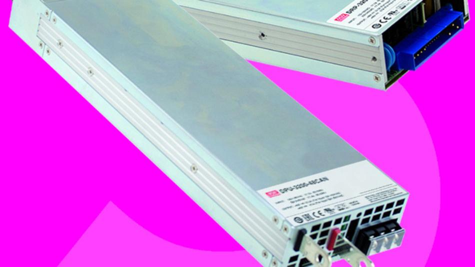 Die Serien DBU, DBR, DRP und DPU gehören zur digitalen 3200-W-Plattform des Herstellers Mean Well.