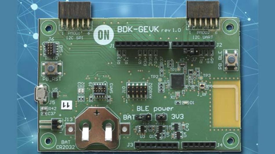 Entwicklungsmodule auf Basis des RSL10 (Radio System on Chip)