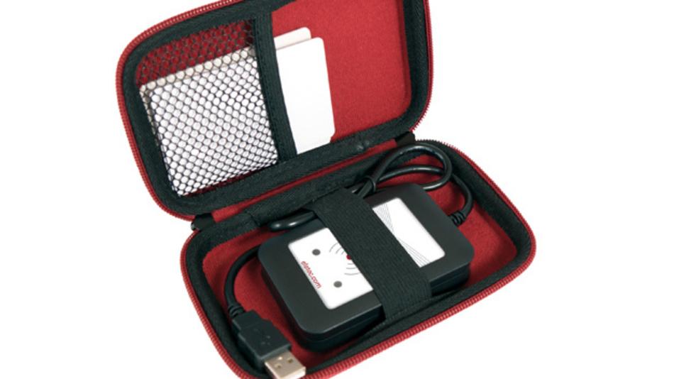 Der TechTracer erlaubt Integratoren vor Ort beim Kunden die komfortable Analyse undokumentierter RFID-Altsysteme.