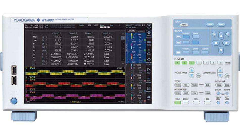 Der neue Präzisions-Leistungsanalysator WT5000 definiert die Referenz in der Leistungsmesstechnik neu