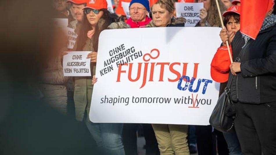 Den Claim von Fujitsu haben die Mitarbeiter ins Gegenteil verkehrt.