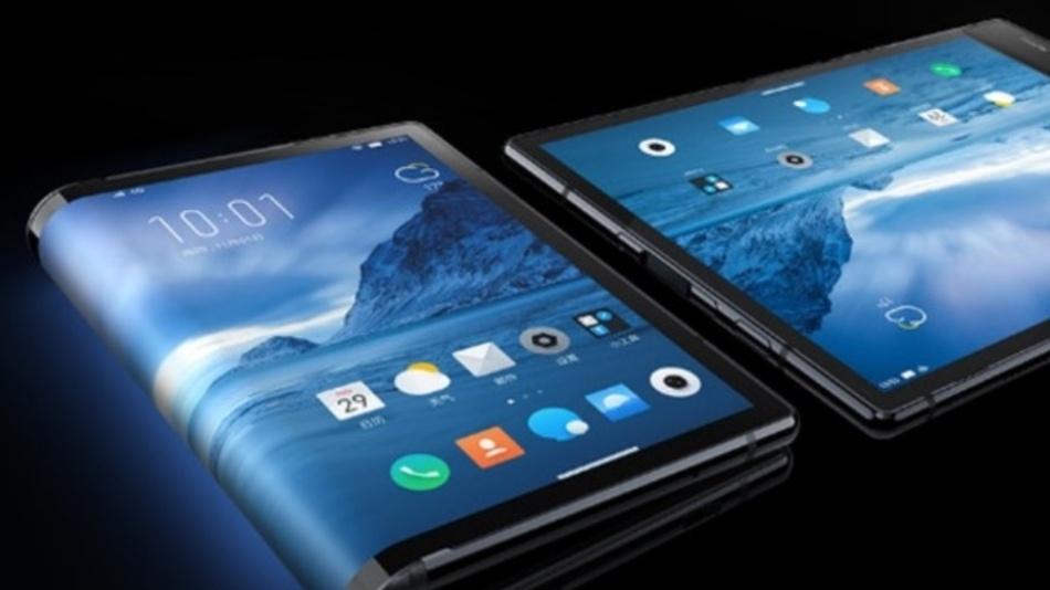 Das FlexPai von Royole ist wohl das erste faltbare Smartphone.