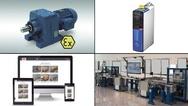 Bildcollage zu Produkten aus der Antriebstechnik