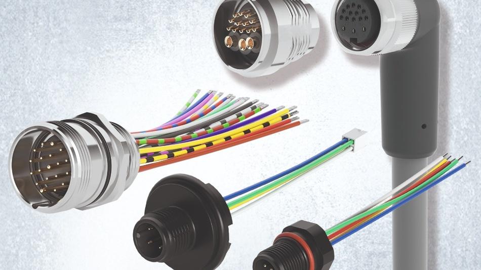 Optimiert auf den jeweiligen Einsatzzweck entwickelt und gefertigt: Geräte- und Kabel-Steckverbinder in den Serien M5, M8, M12, M16 und M23 von phg.