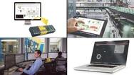 Bildcollage zu Produkten aus dem Bereich IT & Fertigung