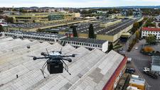 Platz 7 Drohnen entlasten Werksverkehr bei ZF