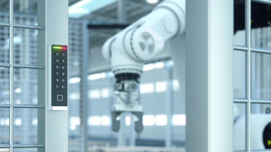 Smart fügt sich RFID-Technologie von phg via Modbus in die Welt der Automation ein. phg bietet unterschiedlichste Leser-Formen für unterschiedliche Einsatzgebiete. Für die Montage auf schmalen Zargen wurde der neue VOXIO-T-Z konzipiert.