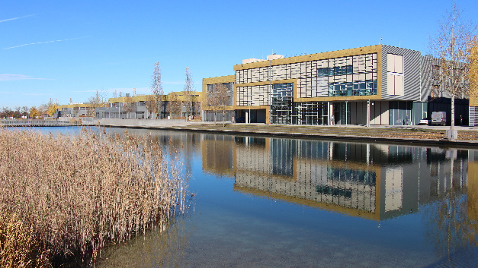 Die Jahrespressekonferenz 2018 hielt Infineon wie gewohnt im Kubus auf dem Campeon in Neubiberg ab.