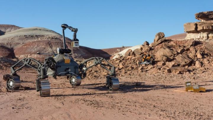 Der Rover SherpaTT