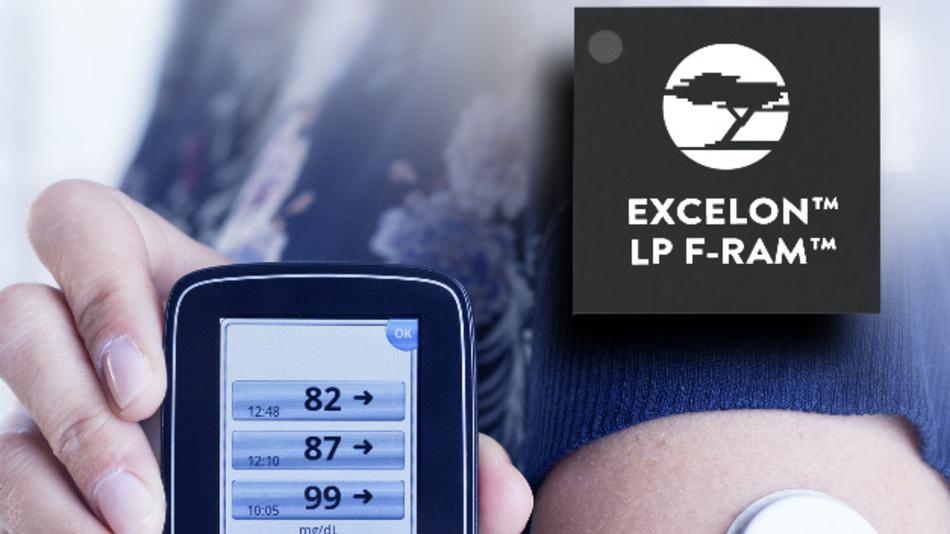 Die Excelon LP-FRAMs von Cypress Semiconductor bieten die Möglichkeit, Daten extrem energiesparend zu speichern.