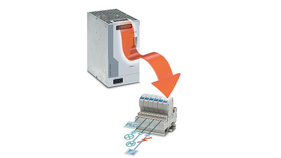 Bild 1. Sichere Versorgung: Die SFB-Technologie löst Standard-Leitungsschutzschalter selektiv aus. Parallel angeschlossene Verbraucher arbeiten weiter.