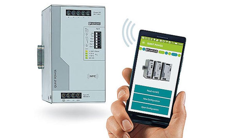 Bild 3. Individueller Betrieb: Per App auf dem Smartphone, per Software auf dem PC oder gleich bei der Bestellung wird die Stromversorgung für die Applikation passend konfiguriert.