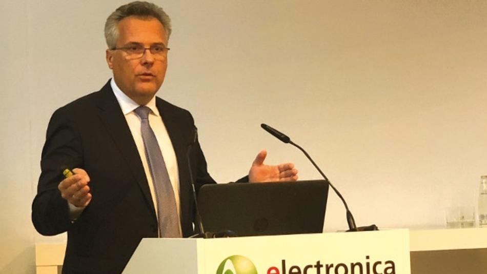 """Erwartet eine """"IoT-Explosion"""": Kurt Sievers, EVP und General Manager Automotive bei NXP."""