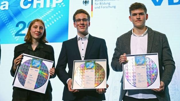 Die Gewinner des Invent-a-Chip-Wettbewerbs 2018