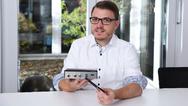 Syslogic-Produktmanager Raphael Binder