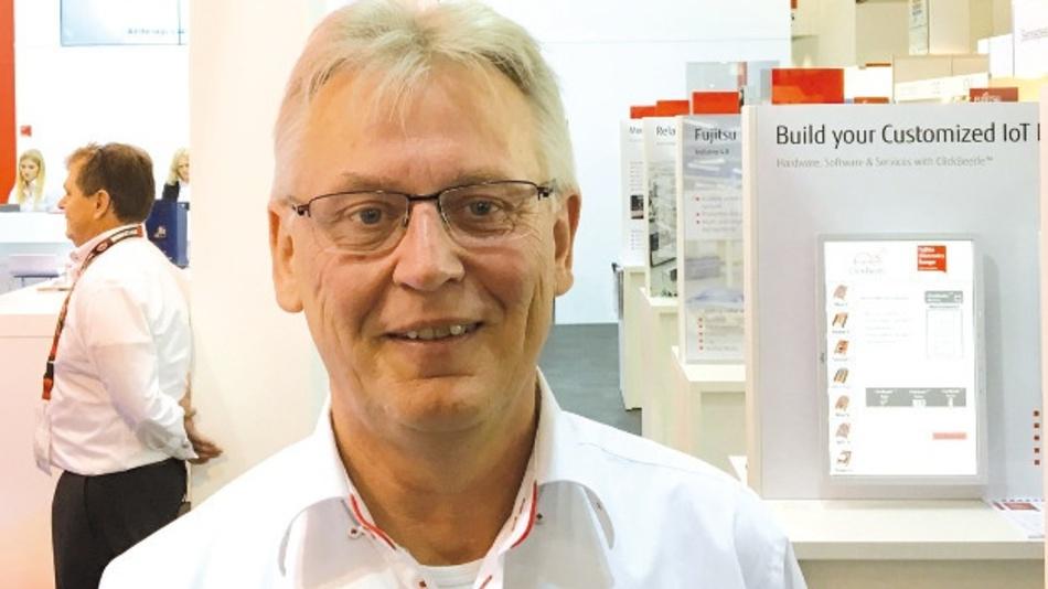 Klaus-Peter-Dyck: »Fujitsu bildet den gesamten Entwicklungsprozess vom Design über die Beschaffung der Komponenten bis zur Produktion ab.«