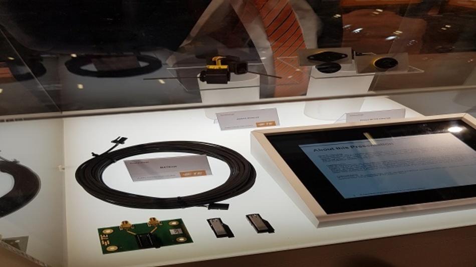 Ein Blick auf das Produktportfolio von TE Connectivitiy auf der electronica.