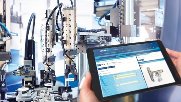 Schunk Montageautomation - online konfigurieren in 3D