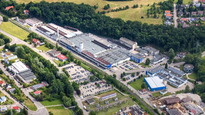 Das Werk von Varta Microbattery in Ellwangen.