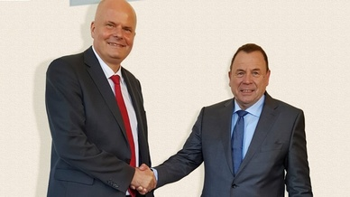 Frank Westphal und Reinhold Kühne