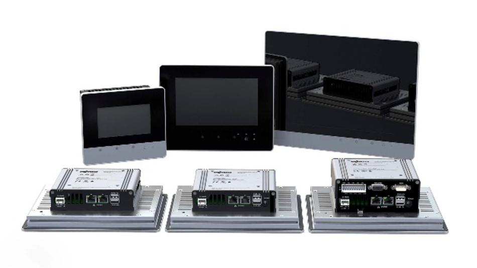 Die Touch Panels 600 von Wago sind in drei Versionen verfügbar.