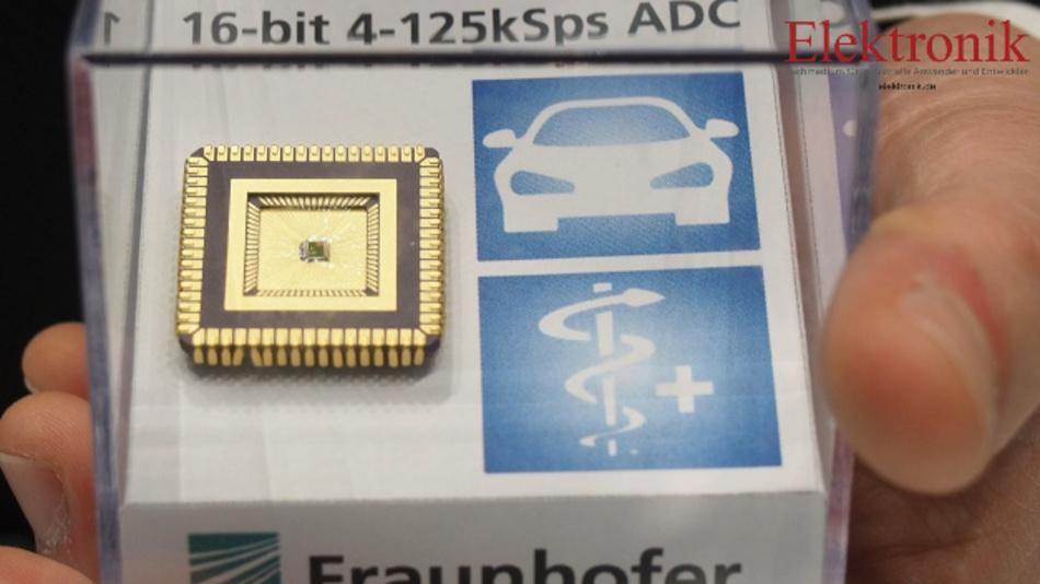 Das Fraunhofer IIS präsentiert eine neue Designmethode für Sensoranwendungen, zum Beispiel für den Automotive- oder den Medizinbereich.