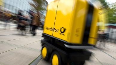"""Deutsche Post testet Zustell-Roboter """"PostBOT"""""""