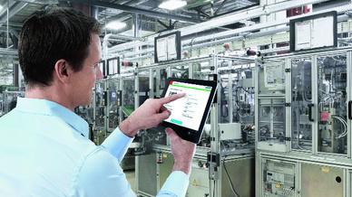 Service App von Bosch Rexroth