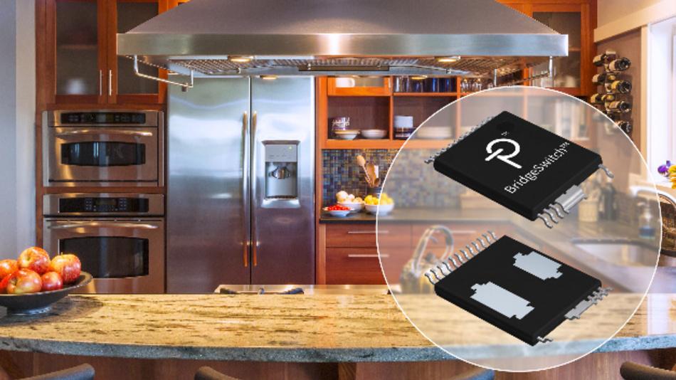 Einsatzmöglichkeiten für die BridgeSwitch-ICs sind Kühlschrank-Kompressoren, Ventilatoren in Klimaanlagen sowie Pumpen und Lüfter im Wohnbereich und in der Leichtindustrie.