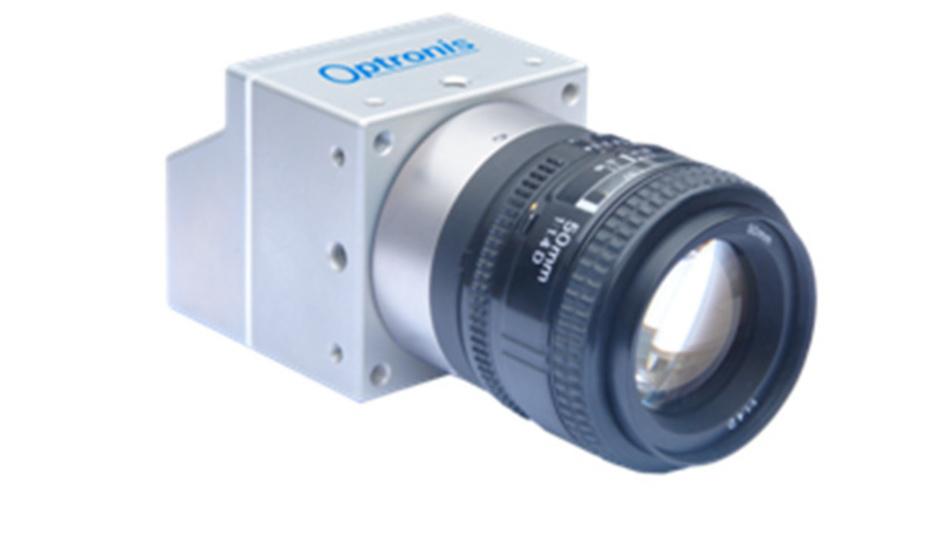 Die CamPerform-Cyclone von Optronis verfügt über eine 4-Kanal CXP-12-Schnittstelle und leistet damit einer Datenübertragungsrate von 50 Gbit/s.