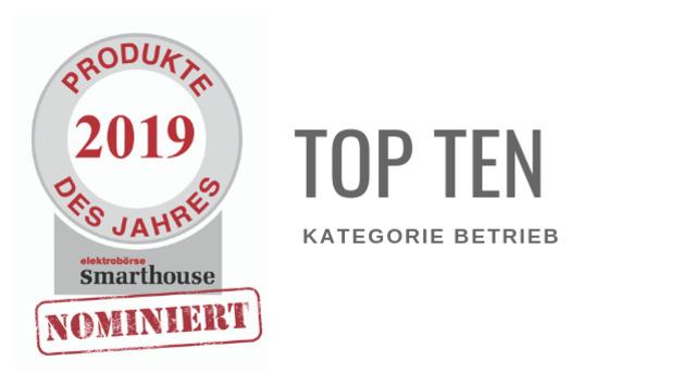 Produkte des Jahres 2019: Top Ten Betrieb