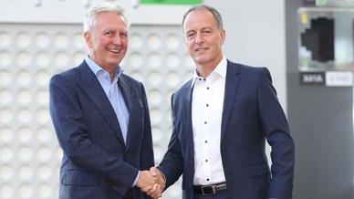 Gerhard Luftensteiner und Hartmut Braun