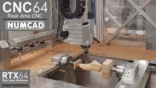 Numcad / IntervalZero Rein Software-basierte CNC-Steuerung