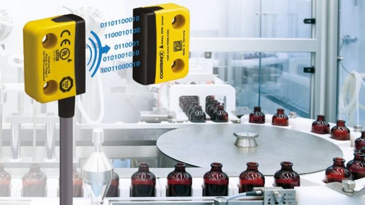 Neuer RFID-Sicherheitssensor von Contrinex