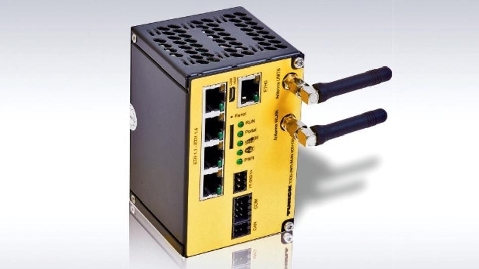 Universelles IoT-Funk-Gateway der Serie TCG20 von Turck