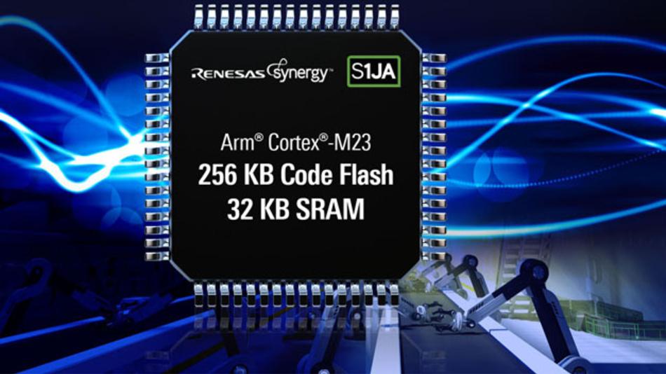 Mit integrierten Analogfunktionen eignen sich die neuen S1JA-Mikrocontroller  von Renesas für Sensorikanwendungen.