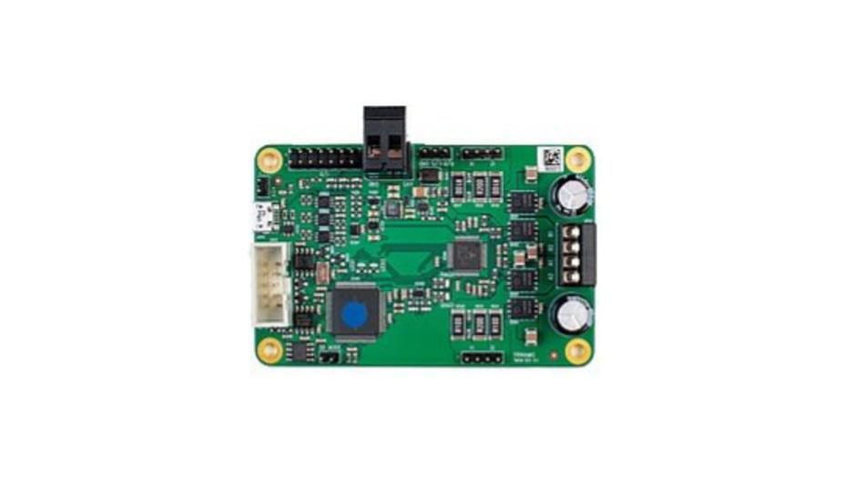 Das StepRocker-Board  TMCM-1211 integriert den Motion-Controller und Motortreiber TMC5160 und einen ARM Cortex-M4.