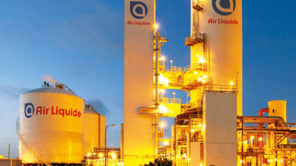 Produktionsanlage von Air Liquide.