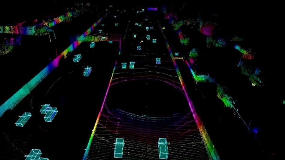 Die Volvo Car Group und Luminar zeigen auf der diesjährigen Automobility LA in Los Angeles neueste Lidar-Sensor- und Erkennungstechnik.